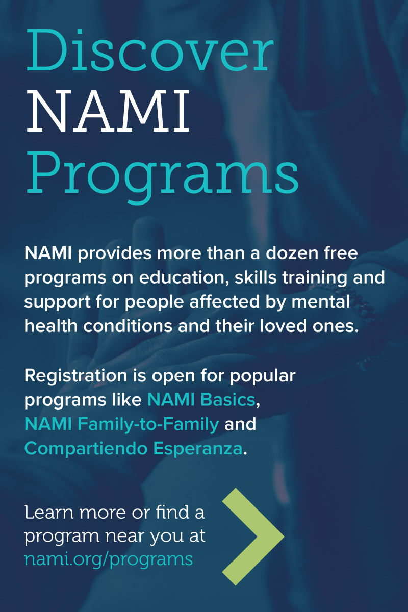 Learn more about NAMI programs