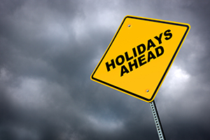 No more post divorce holiday blues