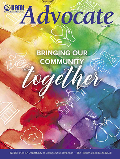 advocate cover bringing our community together