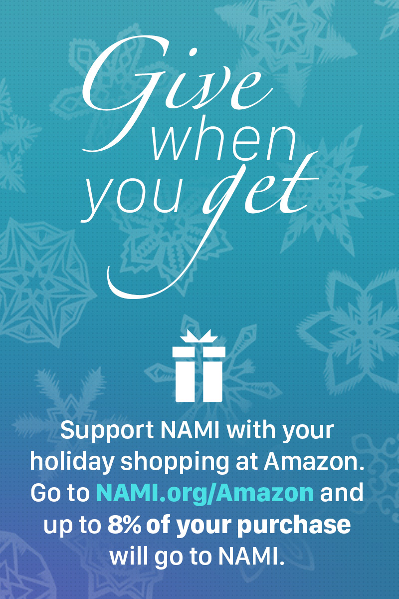 Shop at Amazon, Support NAMI