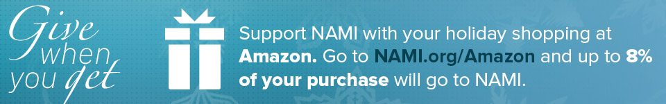 Shop with Amazon, support NAMI