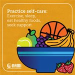 Practice self-care graphic
