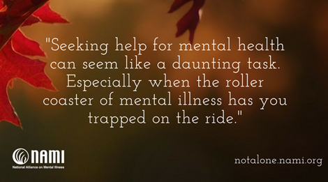 Never Be Ashamed Of Seeking Help Nami National Alliance On Mental